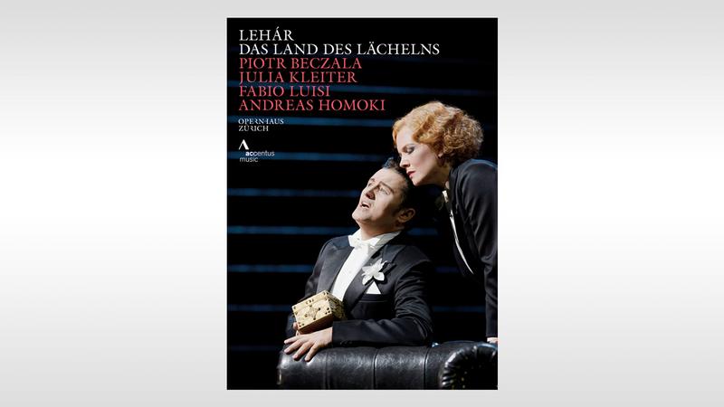 DVD + Blu Ray: Lehár – Das Land des Lächelns – IMZ